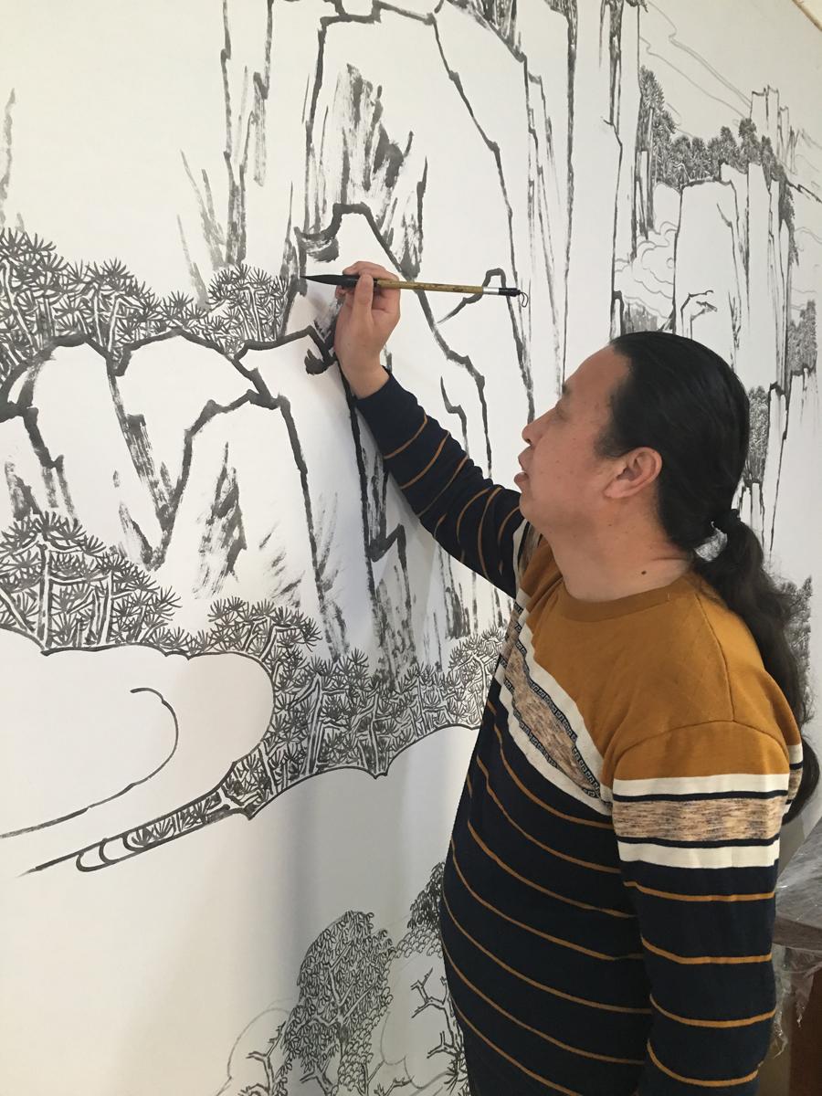 河北省美协会员杜鹏来老师入驻墨缘斋文化网